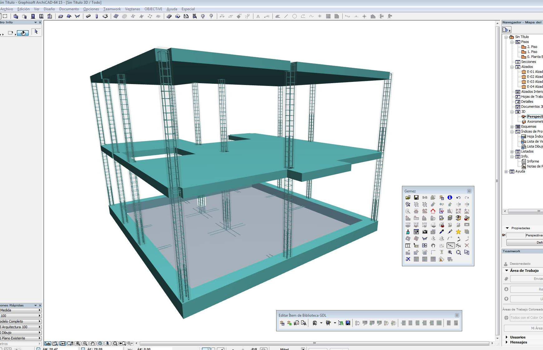 Detailing 3D Archicad Tricalc
