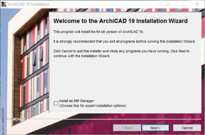 instalacion Archicad